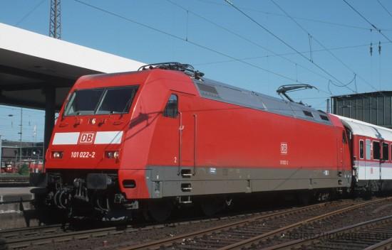 101 022-2 Duisburg 1.6.98