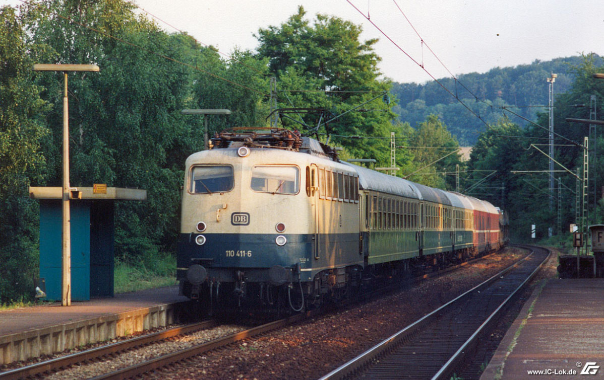 110 411-6 D 2196 Neckargerach 03.07.1991