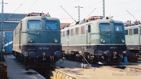 139 134 und 135 Freiburg Juli 1979