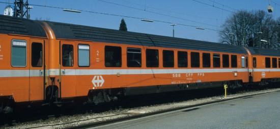 SBB Bpm 61 85 20 - 70 525-1 Lindau 16.4.96
